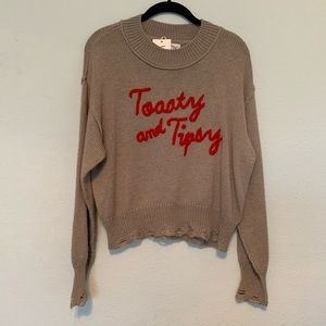Toasty & Tipsy Sweater